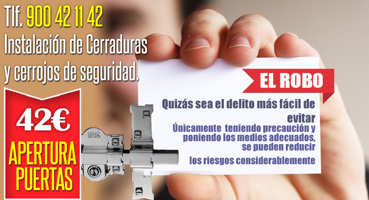 Cerrajeros en madrid baratos apertura puertas 42 oferta - Cerrajeros madrid 24h ...